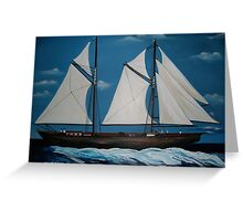 Tall Ships Greeting Card