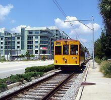 Ybor City Trolley  by JenicaBelle