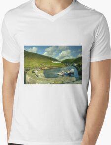 Boscastle Harbour  Mens V-Neck T-Shirt