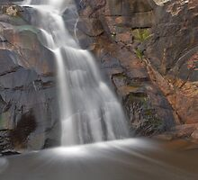 Woolshed Falls Sectional by mspfoto