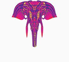 Cosmic Elephant - Pink/Blue Unisex T-Shirt