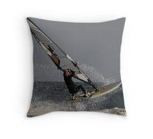 Windsurfer # 5 Throw Pillow