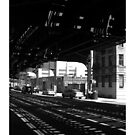 Under The Train by tastypaper