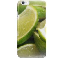 Zesty Limes iPhone Case/Skin