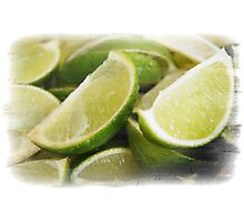 Zesty Limes Photographic Print