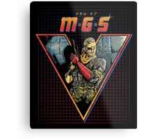 MGS V Metal Print