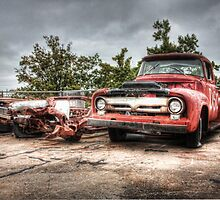 Red Old Truck by Joel Chan