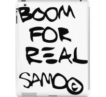 Boom For Real BLK iPad Case/Skin
