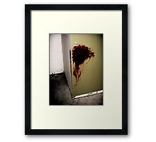 The Messy Captive Framed Print