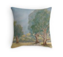 Down in the Glen Throw Pillow