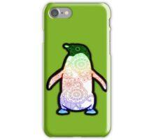 Penguin - Henna Rainbow Tattoo iPhone Case/Skin