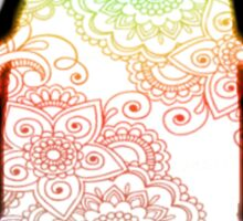 Penguin - Henna Rainbow Tattoo Sticker