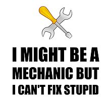 Mechanic Fix Stupid by AmazingMart