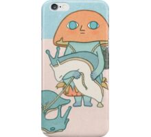 Mushroom & Slugs iPhone Case/Skin