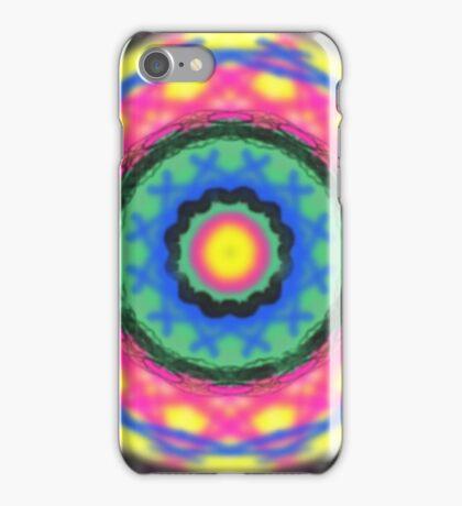 Colorful circle pattern iPhone Case/Skin