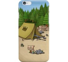 no camping iPhone Case/Skin
