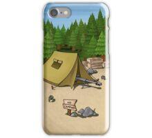 no camping iPhone Case/Skin