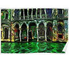 Venice Architecture Fine Art Print Poster