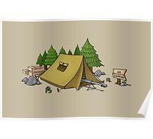 no camping Poster