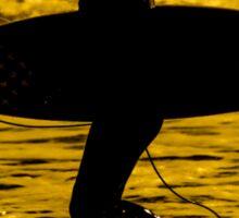 Surfer Silhouette  Sticker