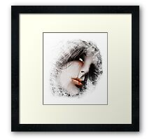 Blood Tear II  Framed Print