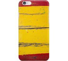 spanish wood iPhone Case/Skin