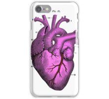 Anatomy pink love heart.  iPhone Case/Skin