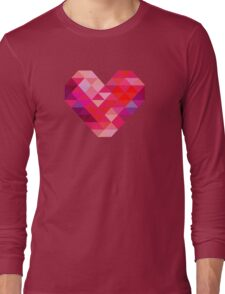 Prism Heart Long Sleeve T-Shirt