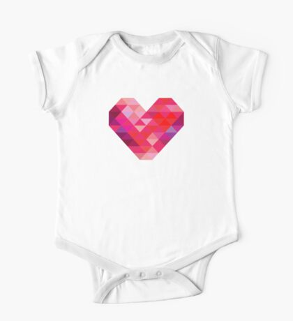 Prism Heart One Piece - Short Sleeve