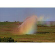 irrigation rainbows  Photographic Print