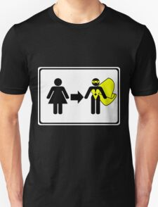 Change Room (Female) Unisex T-Shirt