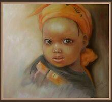 Portrait of African girl by Noel78