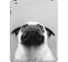 Pug Black and White iPad Case/Skin