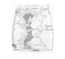Throne of Glass - Map of Erilea Pencil Skirt