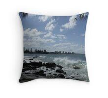 Glorious Day - Alexandra Headlands - Qld  Throw Pillow
