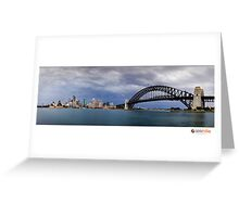 Stormy Sydney Greeting Card