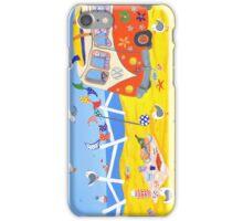 Campervan Summer Picnic iPhone Case/Skin