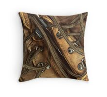 Shoe laces Throw Pillow