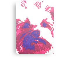 Katie The Wonder Dog Canvas Print