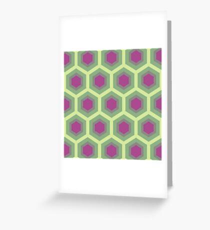 Toned Honeycomb Greeting Card
