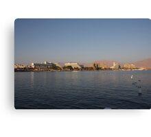 Eilat hotels  Canvas Print