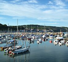 Lyme Regis Tonight by lynn carter