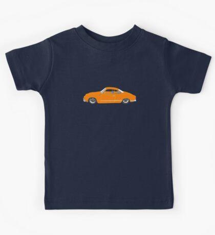 Orange Karmann Ghia Kids Tee