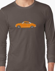 Orange Karmann Ghia Long Sleeve T-Shirt