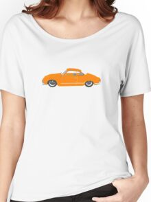 Orange Karmann Ghia Women's Relaxed Fit T-Shirt
