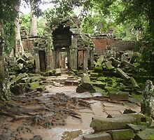 Channeling all Tomb Raiders - Angkor Wat by BRIGHTEY84