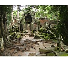 Channeling all Tomb Raiders - Angkor Wat Photographic Print