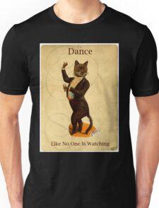 Cat Dance Latin Flamenco Dancer Unisex T-Shirt