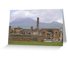 pompeii Greeting Card
