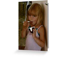 Amelia z CZ. Greeting Card